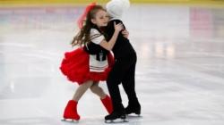 Юні житомирські фігуристи показали власну постановку льодової вистави «Снігова королева» (ФОТО)