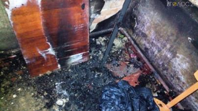 У Житомирі під час пожежі ледь не загинув чоловік
