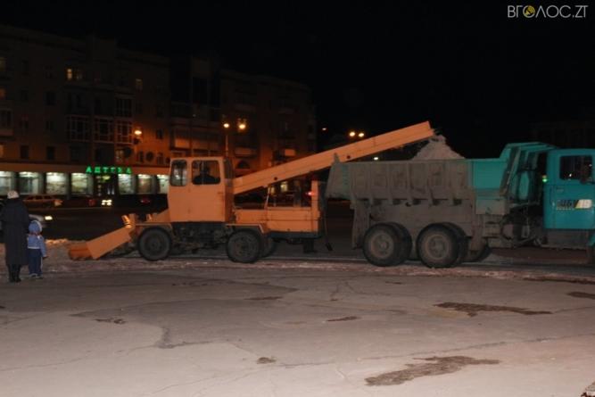 Комунальне підприємство для прибирання снігу з житомирських доріг винаймало приватників