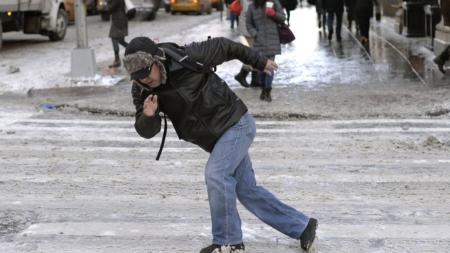 Ожеледиця: 439 житомирян травмувалися на вулицях міста протягом тижня