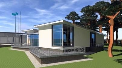 Мерія висунула претензії фірмі, яка будує станцію водних видів спорту