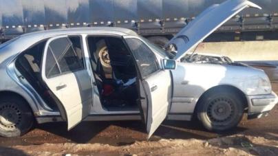 В автомобілі, який поліцейські зупинили в Житомирському районі, виявили викраденого чоловіка