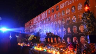 Сотні житомирян вшанували пам'ять Героїв Небесної Сотні (ФОТО)