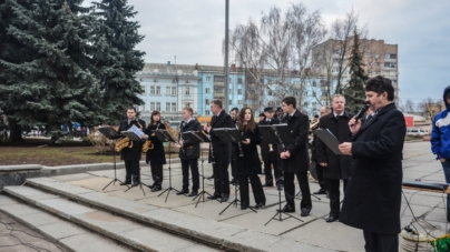 У Житомирі вперше відзначили День українського добровольця (ФОТО)