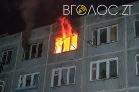 У Коростенському районі, рятуючись від пожежі, жінка вистрибнула з вікна