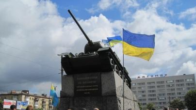 День перемоги: заборонена символіка, портрети ветеранів, покладання квітів (ФОТО) (ОНОВЛЕНО)