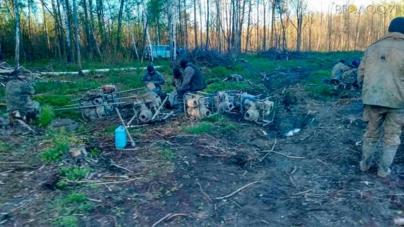 13 мотопомп, 3 автомобілі, 200 метрів пожежних рукавів, бурштин вилучили у старателів на півночі області