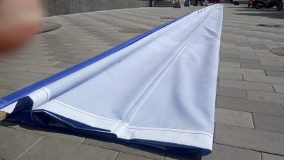 У Житомирі на будівлі УТОГ з'явиться новий гігантській прапор (ФОТО)