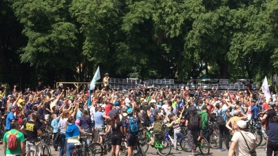 Тисячі людей зібрав «Велодень» у Житомирі (ФОТО)