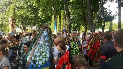 Житомиряни попрощалися з полковником СБУ, який загинув від рук терористів (ФОТО)