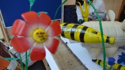 У Житомирі дітей вчили сортувати сміття та робити гарні речі з відходів (ФОТО)