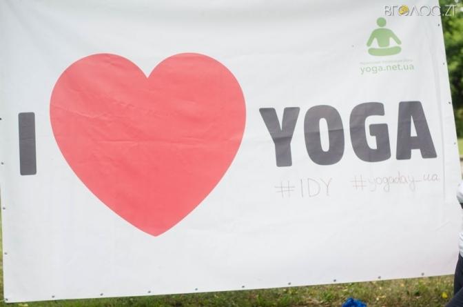 У Житомирі відбувся Міжнародний день йоги (ФОТО)