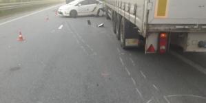 На Житомирщині трапилася аварія за участю поліцейського авто