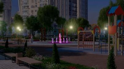На Польському Бульварі може з'явитися «сухий» музичний фонтан із світлодіодною підсвіткою