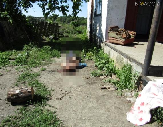 Житомирщина: 29-річний чоловік ножем убив свою матір, а від рук сина загинув батько