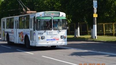 Житомирські тролейбуси вранці масово їдуть у депо (ФОТО)
