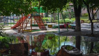 Липнева злива у Житомирі. «Мокрий» ФОТОРЕПОРТАЖ