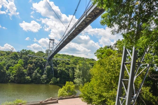 Стало відомо, скільки самогубців стрибнули з підвісного моста у Житомирі