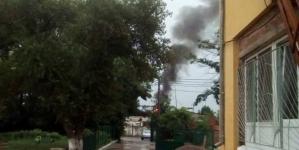 Пожежа: у Житомирі блискавка влучила у будинок