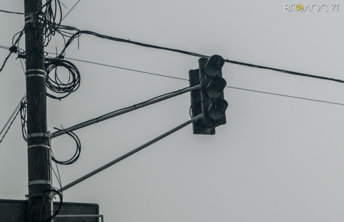 Житомиряни у жовтні найчастіше скаржилися на неробочі світлофори