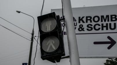 У Житомирській міськраді не знають, хто збудував світлофор поблизу «Кромберг енд Шуберт» (ФОТО)