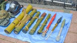 Працівники вибухо-технічної служби показали житомирянам незвичну виставку  (ФОТО)