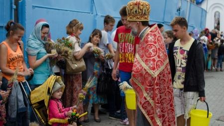Православні житомиряни відзначають Медовий Спас (Фоторепортаж)