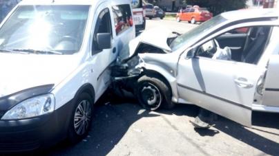 На перехресті вулиць Франка та Ріхтера зіштовхнулися три автомобілі (ФОТО)