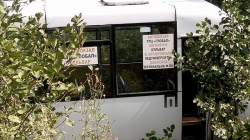 Маршрутне «таксі» №121 злетіло у кювет (ОНОВЛЕНО)