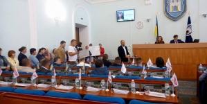 «Батьківщина» відмовилася брати участь у сесії Житомирської міськради