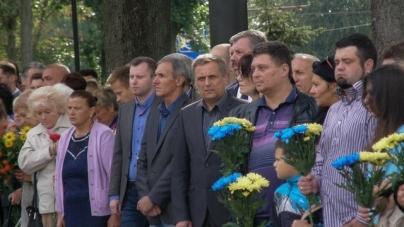 Житомиряни вшанували пам'ять загиблих учасників АТО (ФОТО)