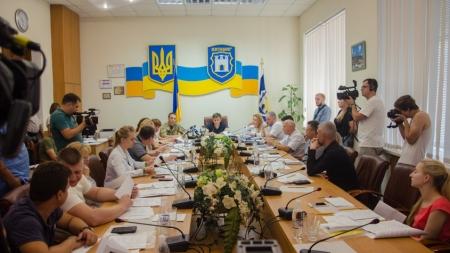 Житомир: засідання виконкому міськради у фотографіях
