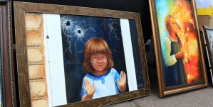 У Житомир привезли картину, занесену до Книги рекордів України (ФОТО)