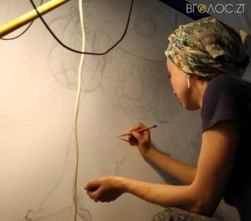 Художники у Михайлівському соборі створюють ескізи для південної та північної стін храму