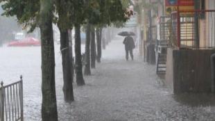Через зливу 7 населених пунктів області залишилися без електрики