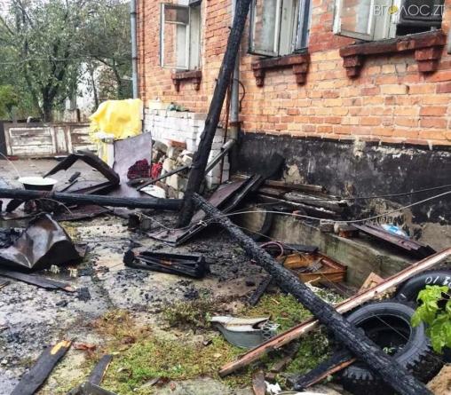 У Житомирі під час гасіння пожежі знайшли останки невідомої людини
