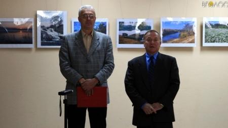 100 світлин з пейзажами Житомирщини представили на виставці Віктора Одоміча (ФОТО)