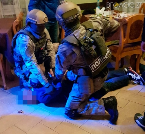 У Житомирі поліцейські затримали злочинну групу кавказців (ФОТО)