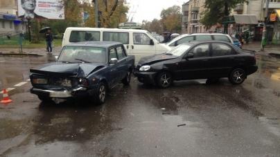 У аварії в центрі Житомира постраждали жінка і дитина