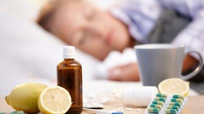 На грип та ГРВІ за тиждень захворіли майже 5 тисяч дітей області