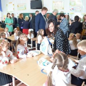 У школі № 28 відкрили клас польської мови