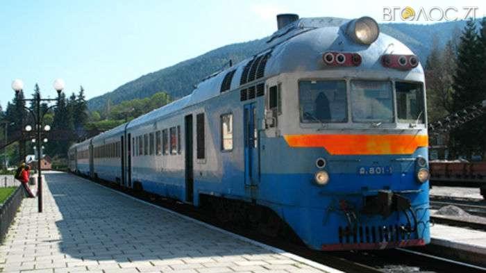 На зимові свята через Житомирську область курсуватимуть додаткові поїзди