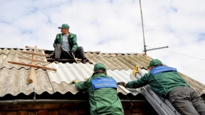 У Бердичівському районі завершать ремонт будинків пенсіонерів, які постраждали після аномального граду
