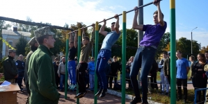 У Житомирі стартували змагання вихованців військово – патріотичних клубів та спартакіада школярів міста (ФОТО)