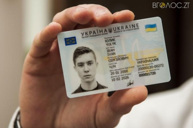 43 тисячі жителів області оформили паспорти у вигляді id-картки