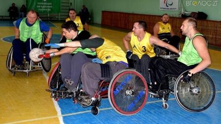 У Житомирі відбувся обласний турнір з регбі на візках