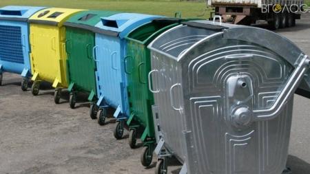 Перехід на контейнерну систему збору сміття у Малині обійдеться у майже 2 мільйони