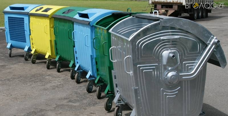 Житомирські комунальники придбають сміттєві контейнери майже на 900 тисяч