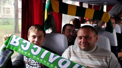 Автобус для футбольного клубу «Полісся» не придбають — нема пропозицій
