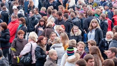 Населення області з початку року зменшилося на маже 6,5 тисяч